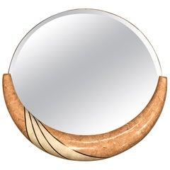 Tessellated Stone Mirror