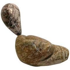 Tête 'Head', Marble Sculpture by Unknown Artist