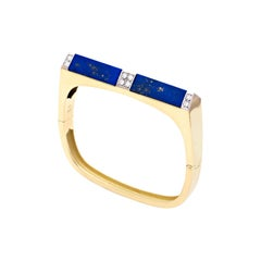 Tetti di Firenze Lapis Lazuli and Diamonds Bracelet