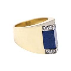 Tetti di Firenze Lapis Lazuli Ring