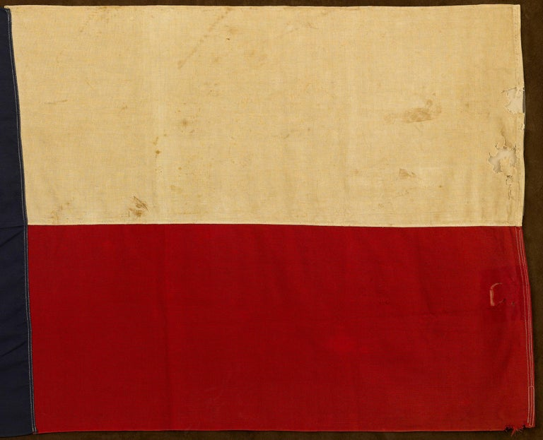 American Texas Vintage State Flag by Annin Flag Company, circa 1930s For Sale