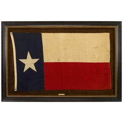 Texas Vintage State Flag by Annin Flag Company, circa 1930s