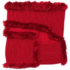 Textile, Decoration, 'Vermillion Harvest'