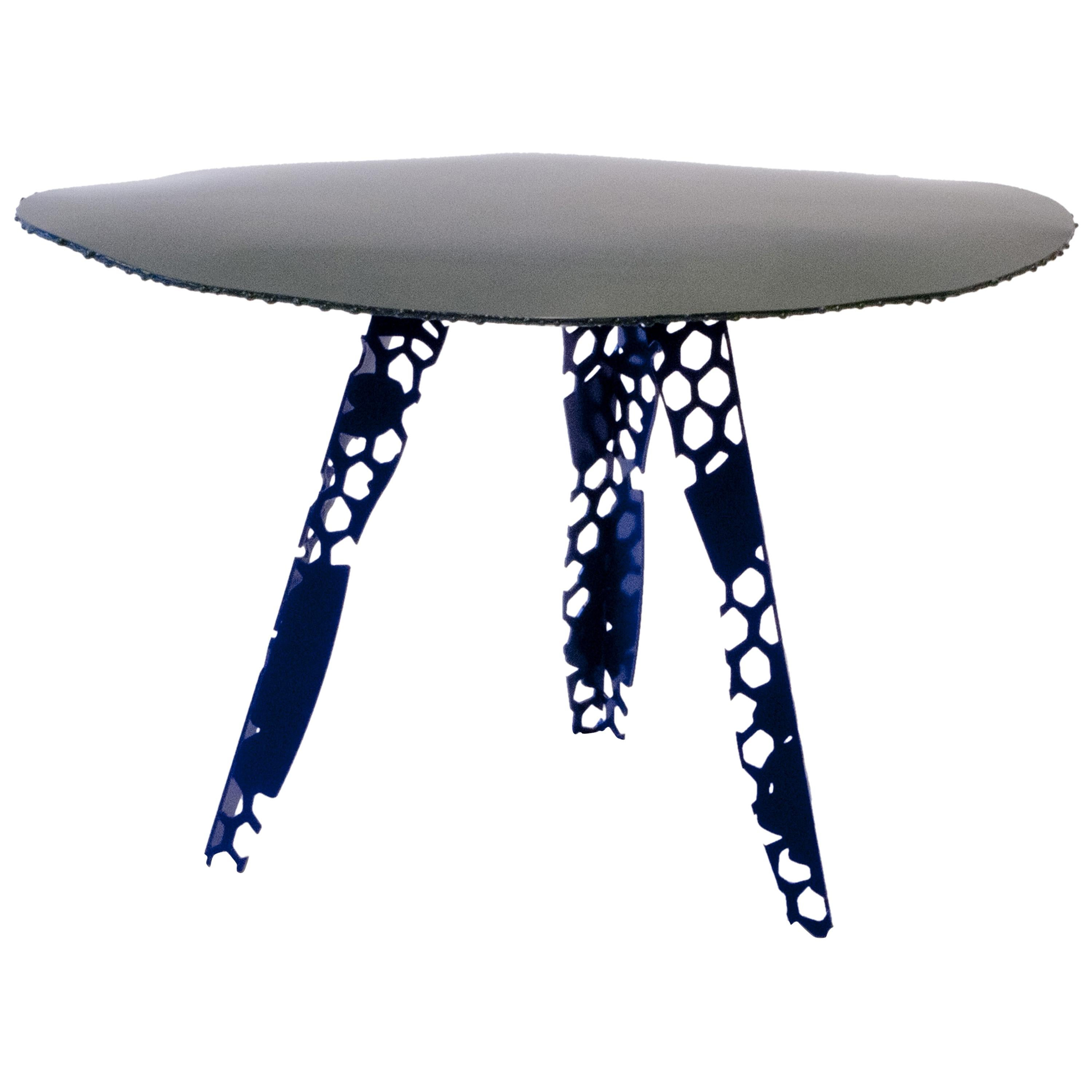 Textile Sketch side Table