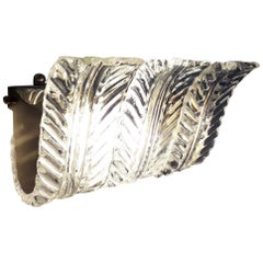 Textured Leaves Sconce by Fabio Ltd, 14 Available