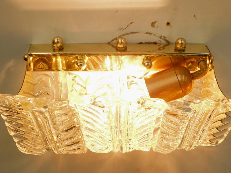 Contemporary Fourteen Textured Leaves Sconces by Fabio Ltd For Sale