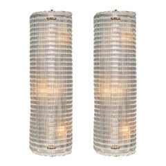 Textured Murano Glass Sconces