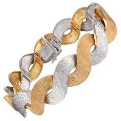 "Textured ""Twist"" Bracelet"