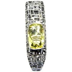 TFS by Roberto Coin 5.10 Lemmon Quartz Silver Bracelet