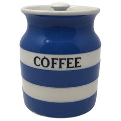 T.G. Green Cornish Coffee Storage Jar