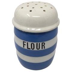T.G. Green Cornishware Flour Shaker