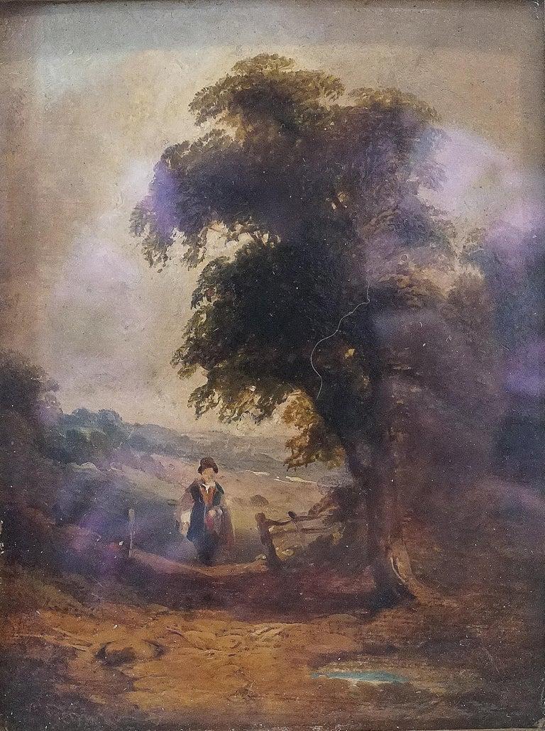 Théodore Rousseau Landscape Painting - Untitled