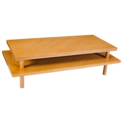 T.H. Robsjohn-Gibbings 2-Tier Coffee Table