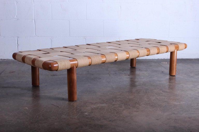 T.H. Robsjohn-Gibbings Bench for Widdicomb For Sale 5