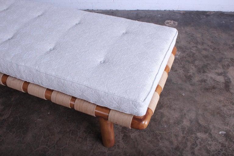 T.H. Robsjohn-Gibbings Bench for Widdicomb For Sale 1