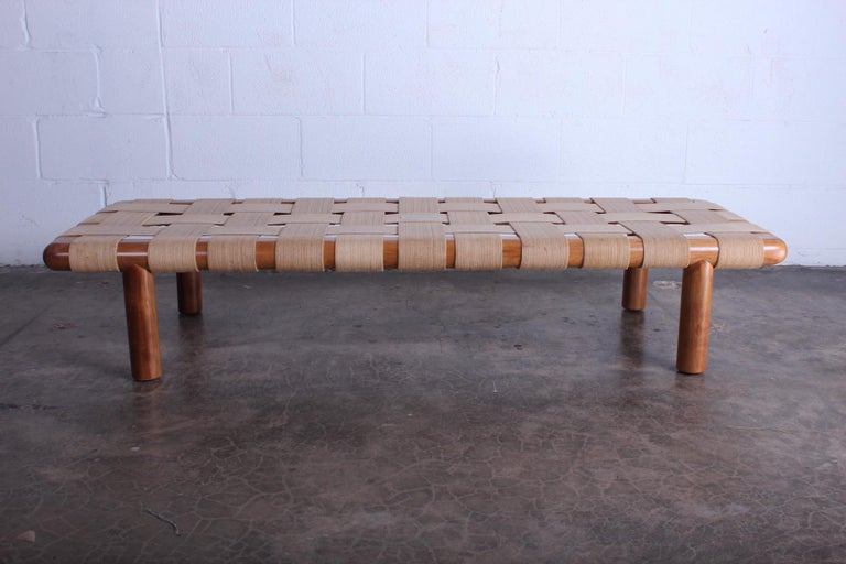 T.H. Robsjohn-Gibbings Bench for Widdicomb For Sale 2