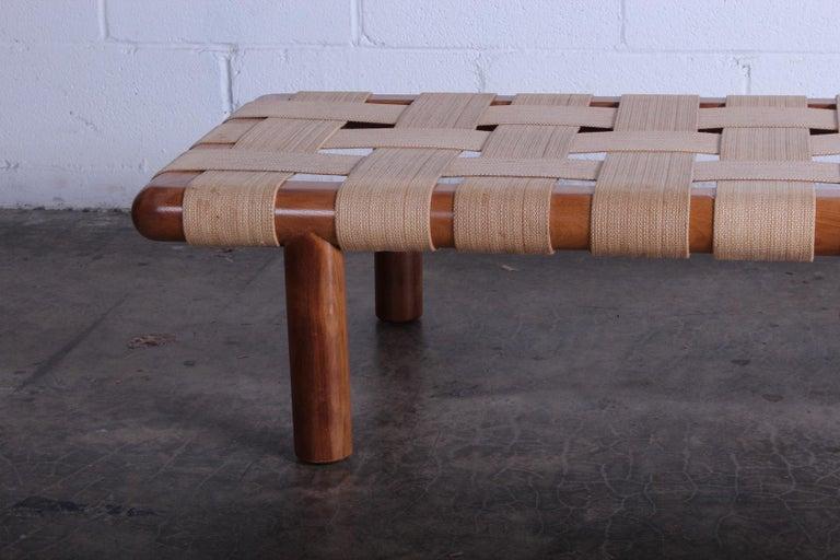 T.H. Robsjohn-Gibbings Bench for Widdicomb For Sale 3