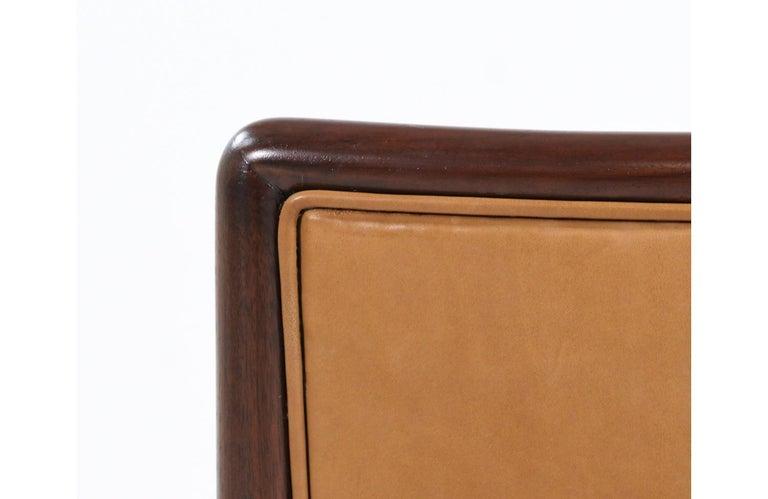 T.H. Robsjohn-Gibbings Brass Accent Lounge Chair for Widdicomb For Sale 6