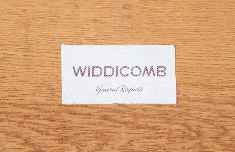 T.H. Robsjohn-Gibbings Brass and Wicker Dresser for Widdicomb For Sale 7