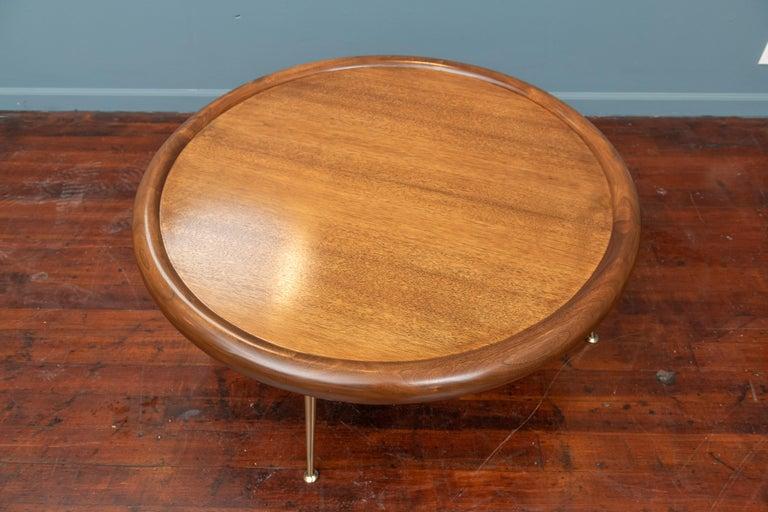 American T.H. Robsjohn-Gibbings Coffee Table for Widdicomb For Sale