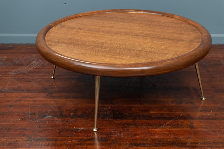 T.H. Robsjohn-Gibbings Coffee Table for Widdicomb In Excellent Condition For Sale In San Francisco, CA