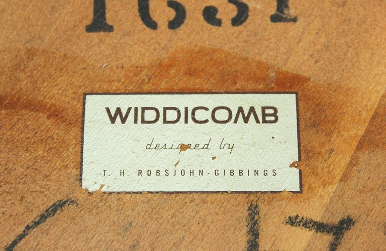 Wood T.H Robsjohn-Gibbings Coffee Table for Widdicomb For Sale