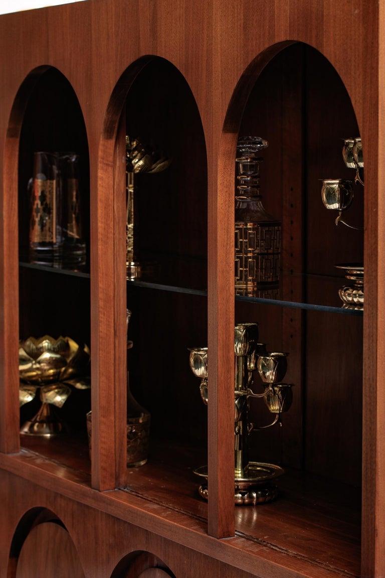 T.H. Robsjohn-Gibbings Coliseum Display Cabinet For Sale 1