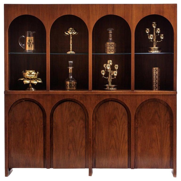 T.H. Robsjohn-Gibbings Coliseum Display Cabinet For Sale
