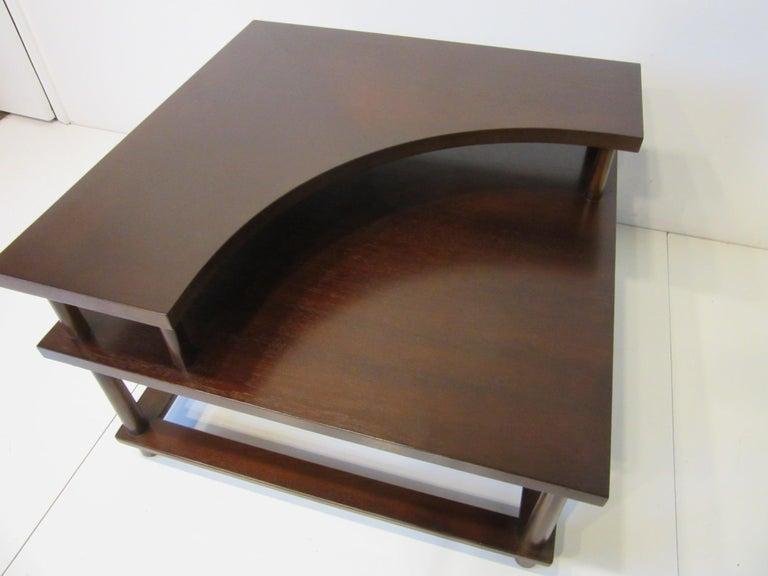 Mid-Century Modern T.H. Robsjohn-Gibbings Corner / Sectional Table for Widdicomb For Sale