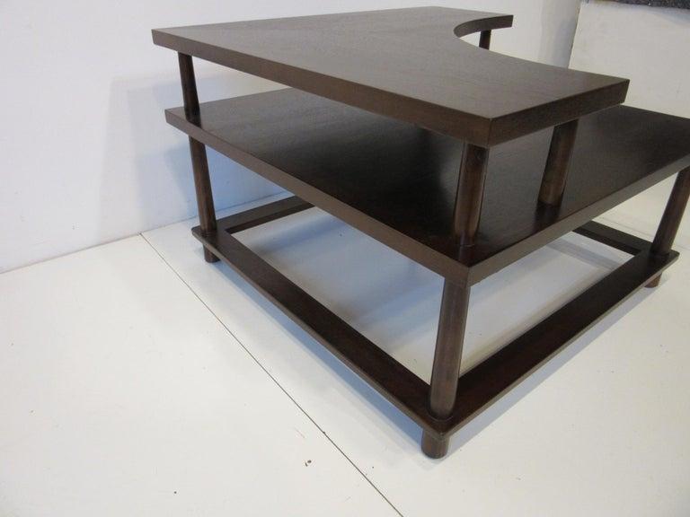 American T.H. Robsjohn-Gibbings Corner / Sectional Table for Widdicomb For Sale
