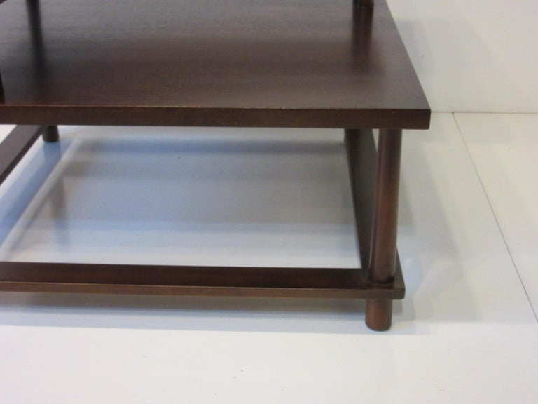 T.H. Robsjohn-Gibbings Corner / Sectional Table for Widdicomb In Good Condition For Sale In Cincinnati, OH
