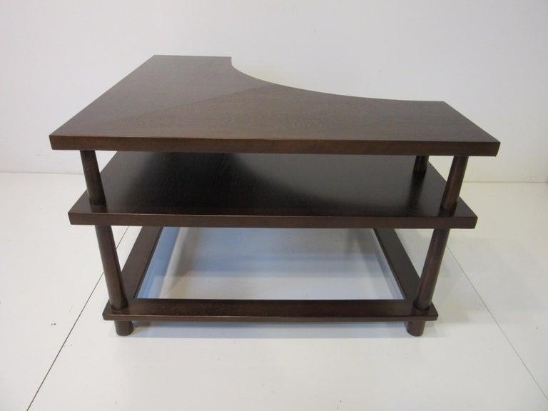 20th Century T.H. Robsjohn-Gibbings Corner / Sectional Table for Widdicomb For Sale