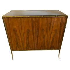T.H. Robsjohn-Gibbings Custom Bar/Cabinet for Kandell Residence