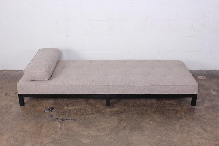 A low daybed or bench designed by T.H. Robsjohn-Gibbings for Widdicomb.