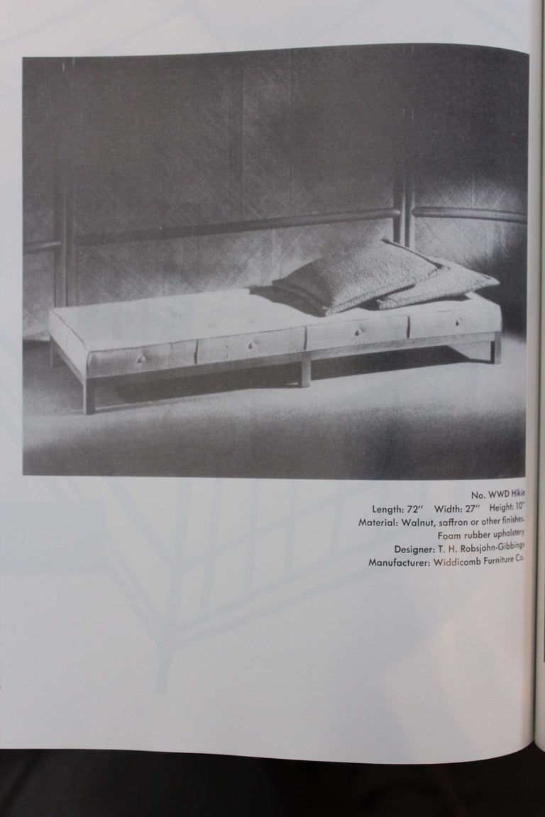 T.H. Robsjohn-Gibbings Daybed or Bench 7