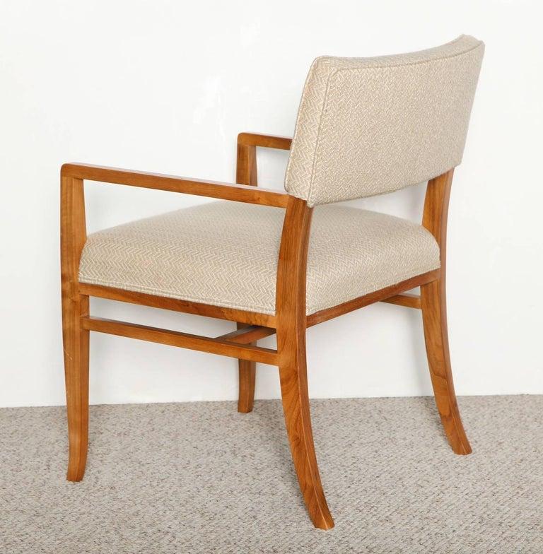 Mid-Century Modern T.H. Robsjohn-Gibbings Dining Chairs For Sale