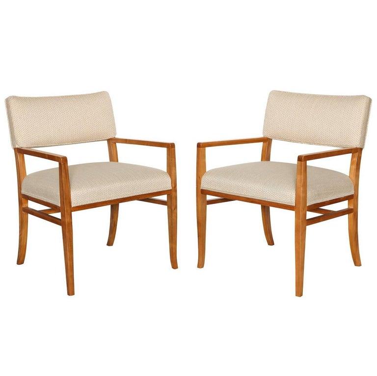 T.H. Robsjohn-Gibbings Dining Chairs For Sale
