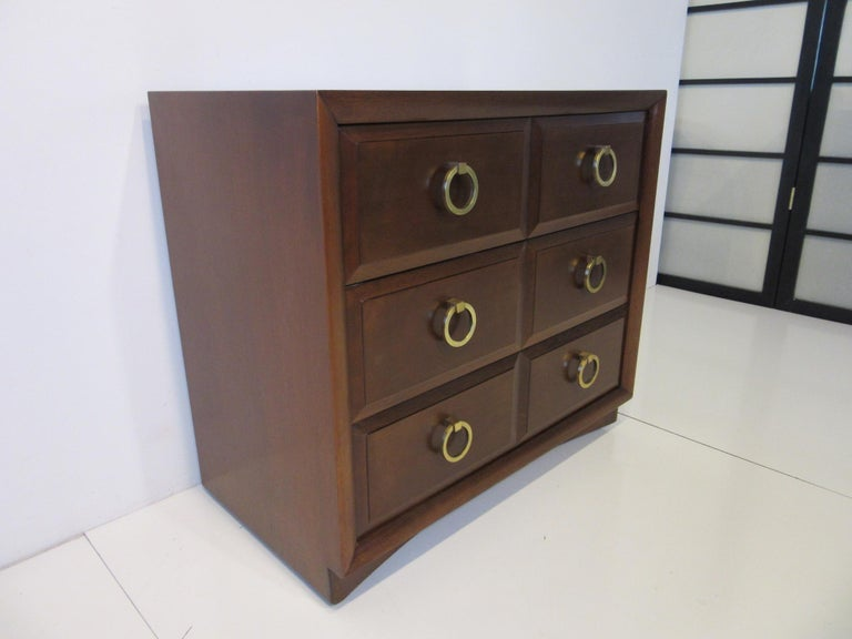Mid-Century Modern T.H. Robsjohn-Gibbings Dresser / Chest by Widdicomb For Sale