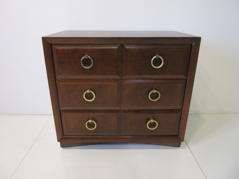 T.H. Robsjohn-Gibbings Dresser / Chest by Widdicomb For Sale 2