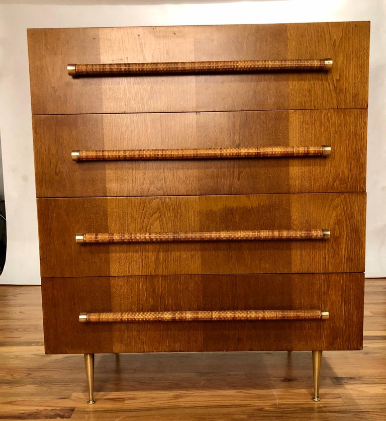 Mid-20th Century T.H. Robsjohn Gibbings Dresser for Widdicomb For Sale