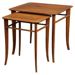 Wood Nesting Tables and Stacking Tables
