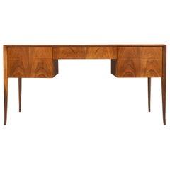 T.H. Robsjohn-Gibbings Executive Saber-Leg Desk for Widdicomb