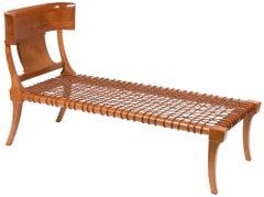 T.H. Robsjohn-Gibbings for Saridis Klismos 'Klini' Chaise Lounge Model nr. 11