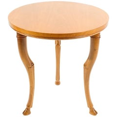 T.H. Robsjohn-Gibbings for Saridis of Athens Circular Trapeza Table