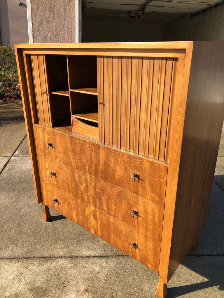 T.H. Robsjohn-Gibbings for Widdicomb Cabinet For Sale 1