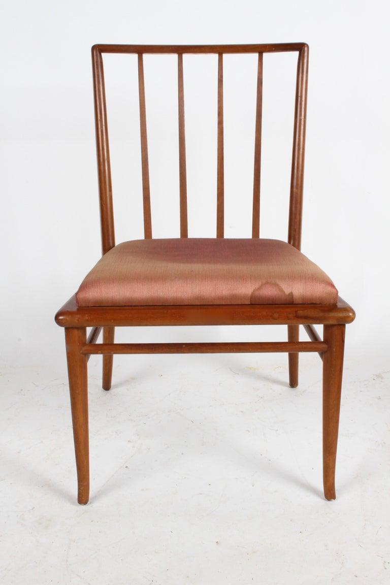 T.H. Robsjohn-Gibbings for Widdicomb Dining or Desk Chair For Sale 3
