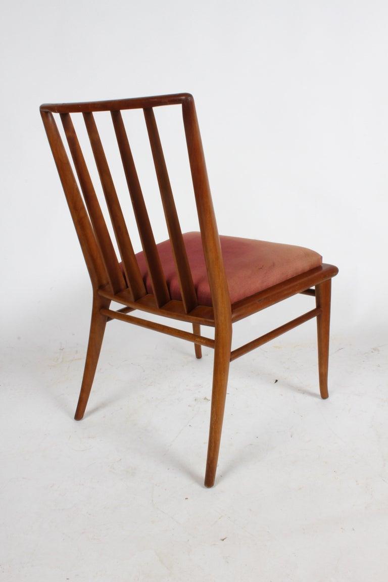 American T.H. Robsjohn-Gibbings for Widdicomb Dining or Desk Chair For Sale