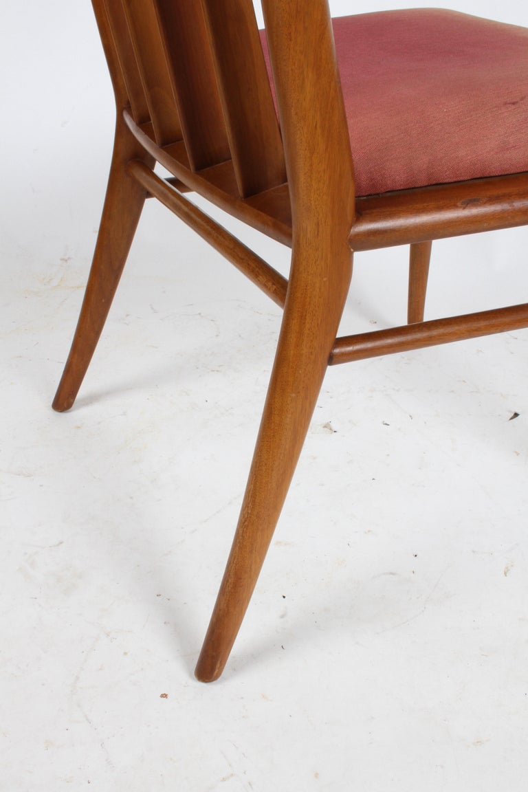 T.H. Robsjohn-Gibbings for Widdicomb Dining or Desk Chair In Good Condition For Sale In St. Louis, MO