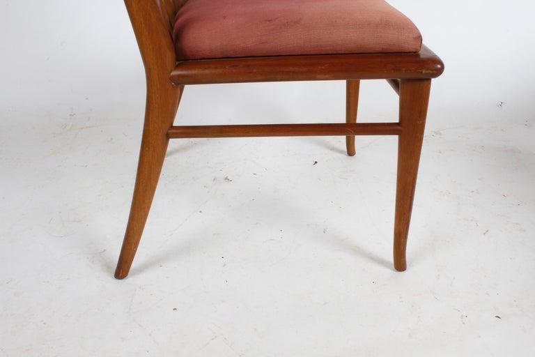 T.H. Robsjohn-Gibbings for Widdicomb Dining or Desk Chair For Sale 1