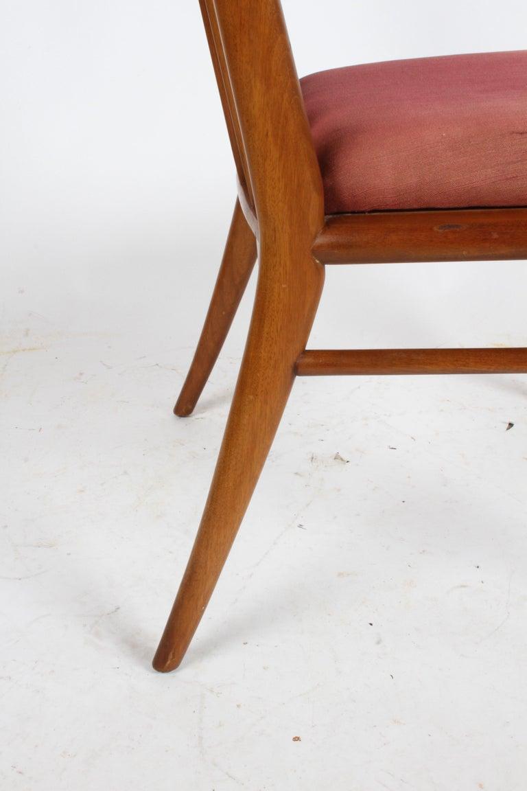 T.H. Robsjohn-Gibbings for Widdicomb Dining or Desk Chair For Sale 2